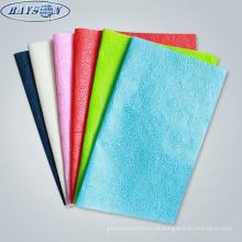 el papel impreso no tejido de la muestra libre de la tela libre de papel de regalo negocia
