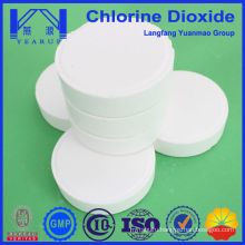 Industrial Circulation Water Treatment Chemical 100g Chlorine Dioxide Tablet With Best Price