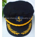 New fashion embroidery cotton captain cap