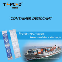 Super Dry Container Desiccant Container Strip Desiccant Container Desiccant Pole Sillca Gel Container for Shipping Container
