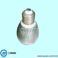 Shenzhen oem última popular muere fundición de aluminio llevó la taza de la lámpara