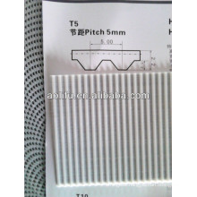 T5 Type Polyurethane Open Belts