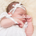 Branco Vintage Charme Lace Flowing Longo Batismo Vestido De Fada Soutache batismo Vestido padrões de vestido do bebê menina