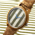OEM in The Latest Fashion Color Bamboo Watches Strap Watch Wooden Table