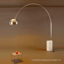 Modern decorative home office antique lighting LED arc floor lamp