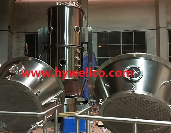 Fluid Bed Vertical Boiling Drier