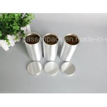 Alumínio Parafuso Lata Canister Presente Moeda Embalagem (PPC-AC-047)