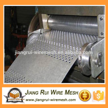 Oval Perforated Metal Mesh punched round hole mesh/plate/sheet/net