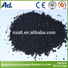 Yodo 300 mg / g malla tamaño 6x16 carbón activado granular para tratamiento de agua