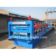 rolo automático do telhado de aço da cor que forma a maquinaria
