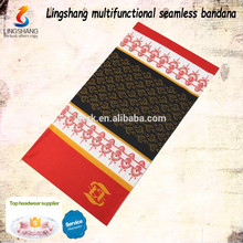 Cheap wholesale decorative headwear for women polyester custom bandana