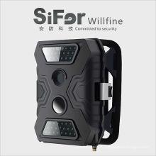 caméra de sécurité solaire dvr sans fil en plein air avec ir leds invisible détection de mouvement soutien télécommande téléphone portable