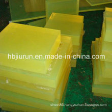 Engineering PU Plastic Block for Punching