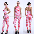 XYLTY-007 Summer 2017 women full figured printing designs jumpsuits and rompers