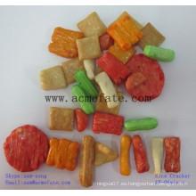 Galletas de arroz japonés caliente snack