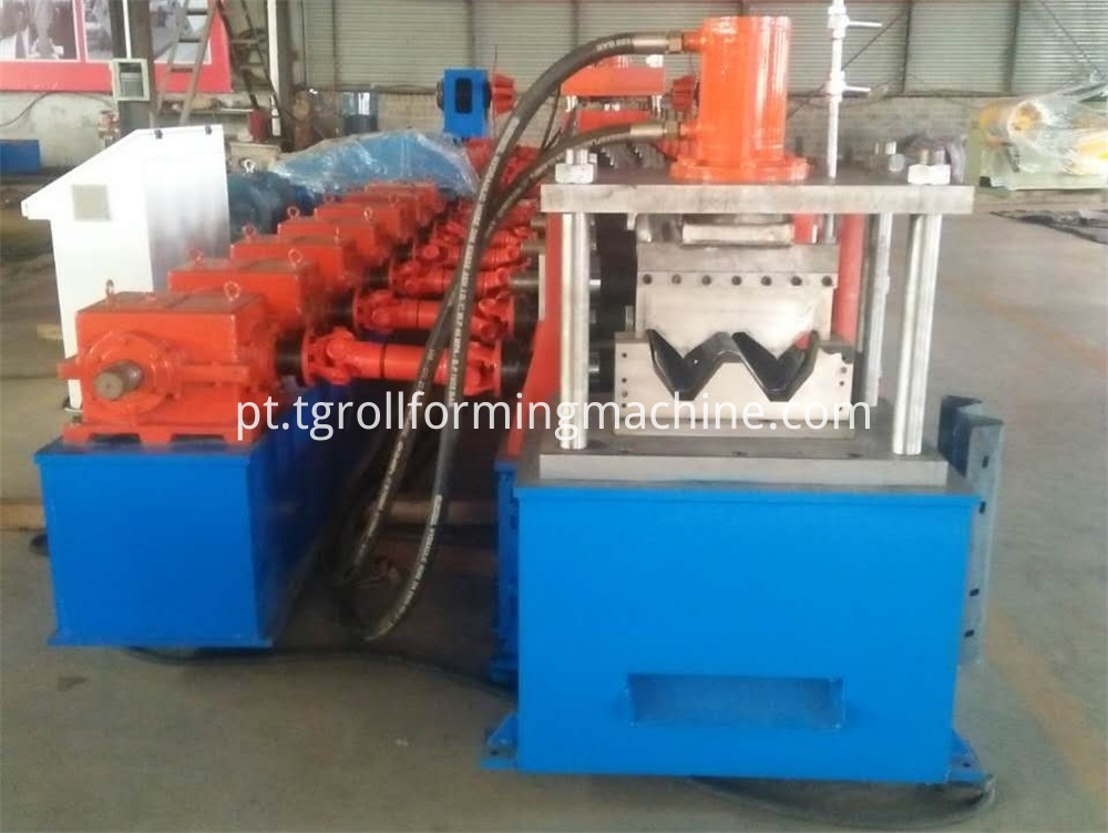Steel Crash Barrier Forming Machine