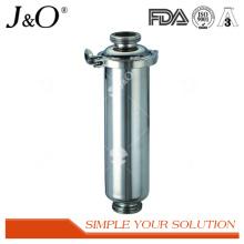 Filtre d'angle de fil sanitaire en acier inoxydable