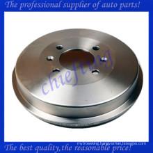 91509908 0986477060 424724 rear drum brakes for citroen berlingo box