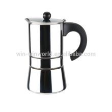 O marcador europeu e a caneca do café do café do aço inoxidável ajustam 9 copos