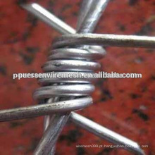 Arame farpado de ferro galvanizado