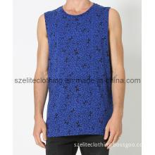 Plain Blank 100%Cotton Vest for Men (LTMBJ-138)