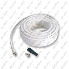 75ft 17 Vatc Coaxial Satellite Cable with Water Proof Tube