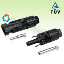 2013 crimping TUV cable wire IP68 plug connector pv