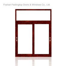 Fenêtre coulissante en aluminium à double vitrage de style européen (FT-W85)