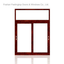 European Style Double Glazing Aluminium Sliding Window (FT-W85)