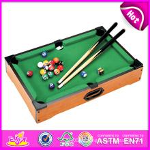 2014 neue Holz Snooker Tisch Spielzeug, beliebte Holzspielzeug Snooker Tisch zum Verkauf, neueste Snooker Tisch Spielzeug Fabrik W11A027