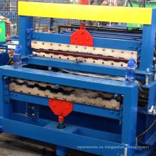 rusia tipo xinnuo c8-c20 doble capa máquina de pared de construcción automática