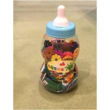 660pcs Snowflake Building Toy with Storage Bottle