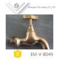 EM-V-B049 High quality polishing brass bibcock for Europe