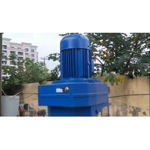 Tanque de mistura líquido Jacketed químico do aquecimento de vapor dobro