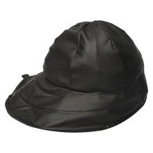 Черный PU Rain Hat / Дождевик / Плащ для взрослых