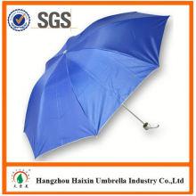 Parapluie pliable de dernière usine gros Parasol impression Logo avec logo