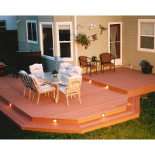 House Lawn Platform Wood Plastic (WPC) Deck Floor