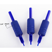 Disposable Blue Silicone Rubber Tattoo Grip Tattoo Tubes