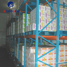 High Usage Rate Push Back Rack for Warehouse & Industry