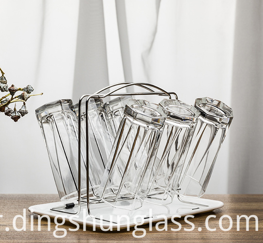 Creative glass home glass water cup