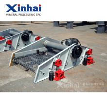 China Introducción del grupo del principio del funcionamiento de la pantalla vibrante de la máquina del separador de la minería del bajo costo