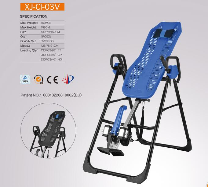 Home Using Gym Inversion Table