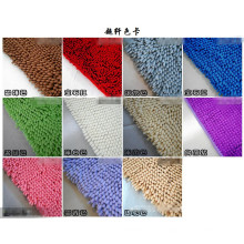 Coloful Antislip Bathroom Chenille Mat Carpet Rug