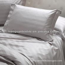 white hotel satin stripe cotton fabric