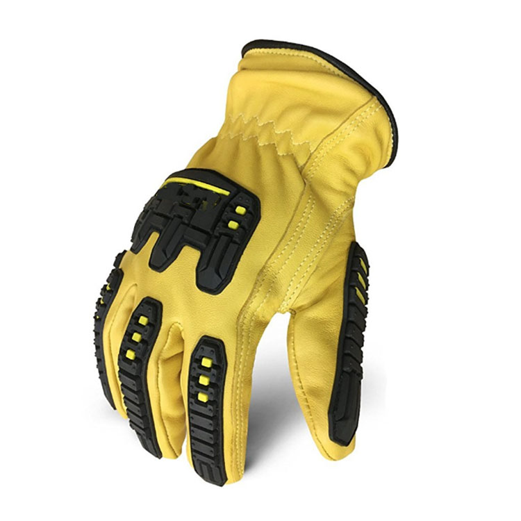 Yellow Custom Acid-resistant Gloves