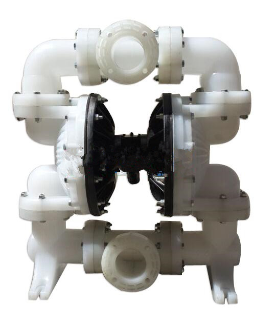 QBY engineering plastic pneumatic diaphragm pump reinforced polypropylene diaphragm pump 4