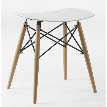 Hocker-Freizeitstuhl aus Holzbein