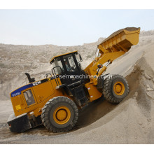 SEM 650B Wheel Loader dengan Rock Bucket