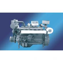 Suministro barato 4 tiempos motor de inyección directa refrigerado por agua 80-225kw/Ricardo R105 Marine