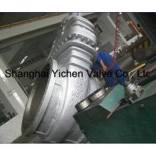 """Válvulas de compuerta de acero fundido de alto diámetro de 42 """"y 150 lb (Z540 (1))"""